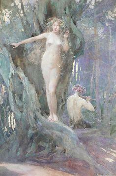 John Reinhard Weguelin – The Magic of Pan's Flute (1905) - John Reinhard Weguelin - Wikipedia