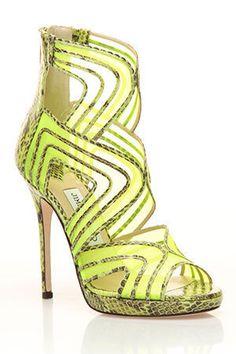 Jimmy Choo Magnum sandal in green and black $534.99  http://www.beyondtherack.com/member/invite/NAC41086F5B