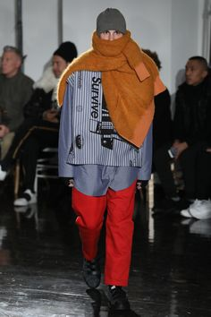 See the complete N.Hoolywood Fall 2017 Menswear collection.