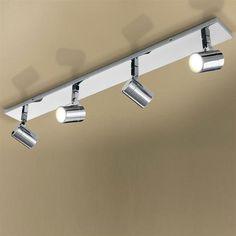 H&P Bathroom Lighting HiB Quartet LED Spot Light Four Multi-Angled - Chrome
