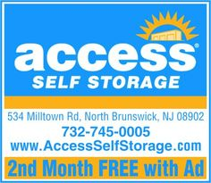 """Don't clutter your home or garage. Store your """"stuff"""" at Access Self Storage, North Brunswick, NJ"""