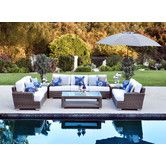 Ahhhh looks soooo cute for outside! - Palisades Deep Seating Group with Cushions
