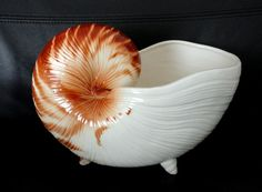 Vintage Fitz Floyd Seaboard Conch Shell by AuntieLindasAttic