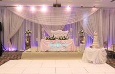 wedding stage nigerian #weddingstage #weddingdecor #designerchaircoverstogo