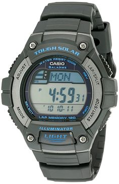 Casio Men's W-S220-8AVCF Grey Watch >>> You can get additional details at the image link.