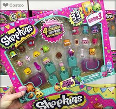 Shop away with the Shopkins™ Super Shopper Pack! Collect all of the super-cute Season 3 Shopkins™ characters.