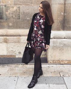 Unterwegs in Wien Autumn Winter Fashion, Fall Winter, Fashion Bloggers, German, Tights, Cosplay, Skirts, How To Wear, Dresses