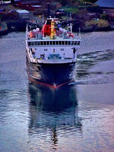 Isle of Mull Ferry Birthing at Oban by James Bullis-King