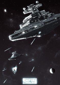 'The Empire Strikes Back' by Colin Morella