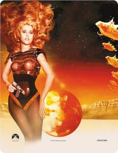 Buy Barbarella - Limited Edition Steelbook from Zavvi, the home of pop culture. Take advantage of great prices on Blu-ray, merchandise, games, clothing and more! Barbarella, Classic Sci Fi, Movie Covers, Lost In Space, Jane Fonda, Vinyl, Pop Culture, Pin Up, Wonder Woman