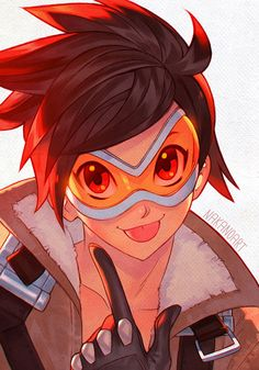 GOGGLES. I dont have much more to add, but tracer is definitely a great example of a beefed up body suit too!