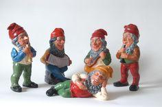 5 Hertwig & Endert gnomes ~1950