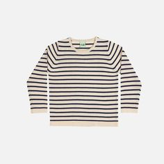 Soft merino light sweater in classic FUB stripes, these are a very popular style, really soft and perfect for adding some style and warmths. Machine wash on wool program. Dress With Cardigan, Stripe Top, Wool Sweaters, Organic Cotton, Stripes, Navy, Blogger Style, Vip, Clothes