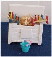 Dollhouse Nursery Furniture from Fingertip Fantasies Dollhouse Miniatures