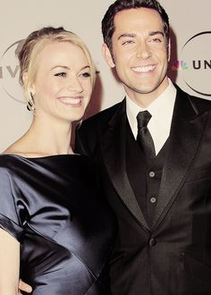 zac and yvonne from the tv series Chuck :)