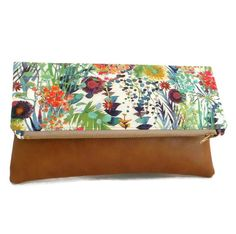 Liberty of London Foldover Clutch  Flower Show by peskycatdesigns, $45.00  Wow!  Etsy!