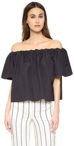 Vince Off the Shoulder Top, $225