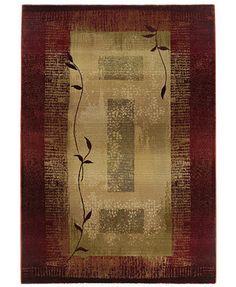 "Sphinx by Oriental Weavers Area Rug, Generations 544X Shadow Vine 9'9\"" x 12'2\"""