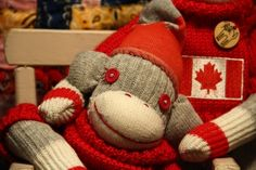 Ambassador Sock Monkey made to order  by POST by katarinathorsen, $45.00