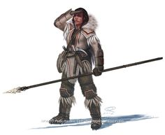 Varki Huntress by Akeiron.deviantart.com on @deviantART