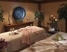 Sophisticated massage Room