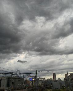 不穏な空雨降らんといてw 土曜日お疲れ様でした(ω)ノ by yuki_g_ship