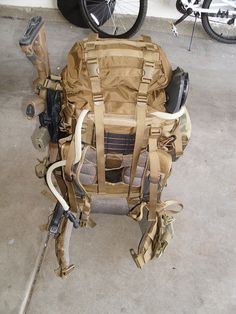 Eberlestock V69 Destroyer Tactical Pack. All the space one would need to build the perfect B.O.B.