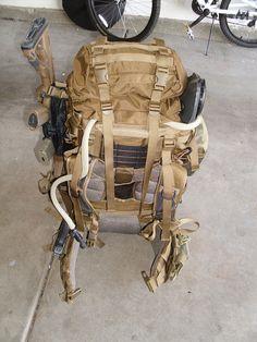 bug-out bag.