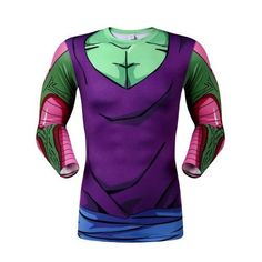 12309184ce38e DBZ Piccolo Long-Sleeve Compression Shirt · Dbz ShirtsT Shirt ...