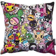 Tokidoki Throw Pillow, $58, now featured on Fab.