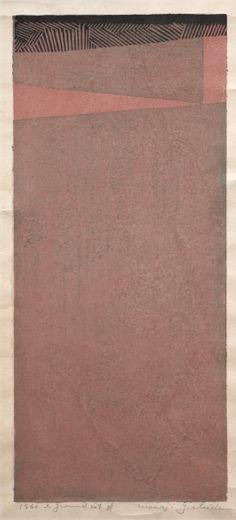 Masaji Yoshida (Japanese, 1917-1971) Ground No. 4 | Cleveland Museum of Art