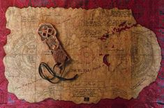 One-Eyed Willie's map, used by Chester Copperpot and the Goonies.