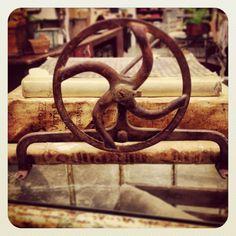Antique industrial gear