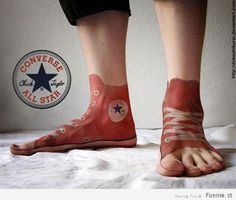Converse All Star Tattoos