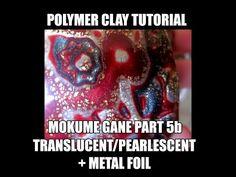 164 Polymer clay tutorial - Mokume Gane part 5b - YouTube