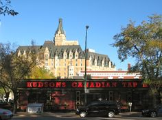 the iconic old CNR hotels that were built by the railway in the early 20th century are great stays. Pictured here is the Delta #Bessborough of #Saskatoon