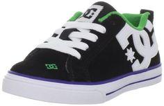 DC Kids Court Graffik Vulcanized Skate Shoe (Little Kid/Big Kid) DC. $42.00. Made in China. Rubber and noeprene. Rubber sole