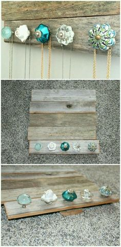 Add a little more to it to hold bracelets and earrings and that's pretty simple!