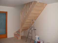 small staircase | Storage Under Staircase for Small Spaces