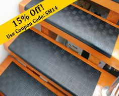 Add Traction To Your Residential, Commercial, Or Business Stairs With The  Diamond Grip Rubber Stair Treadu0027s Incomparable Anti Slip Qualities.