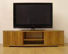 tv and media furniture wood - Google Search