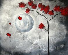 moon painting madart