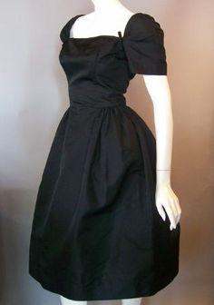 harvey berin for karen stark 60s dress vintage dress