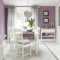 Purple Dining Room Traditional Ideas 10 Of The Best