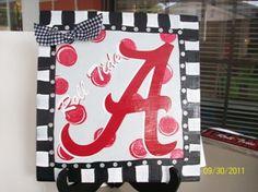Alabama Roll Tide from craftigirl