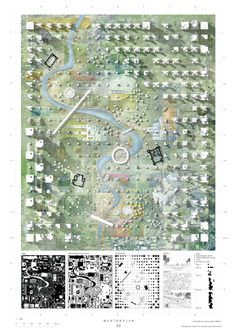 Architecture Drawing Plan, Architecture Concept Diagram, Architecture Portfolio, Architecture Diagrams, Ancient Architecture, Arcology, Urban Analysis, Site Plans, Master Plan