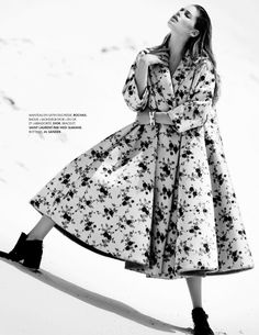 visual optimism; fashion editorials, shows, campaigns & more!: doutzen kroes by bruno staub for elle france 30th august 2013