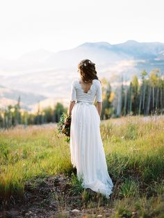 Intimate Telluride Mountain Wedding - photo by Brumley & Wells