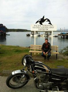 Meanwhile, Angus toured from Halifax to Tofino on his bike, garnering beers and stories. The trip was his personal challenge: if he didn't make it, he wouldn't start the brewery. Brewery, Roots, Challenges, Bike, Bicycle, Trial Bike, Bicycles