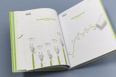 Energie Steiermark Annual Report 2012 - Publishing by moodley brand identity, via Behance